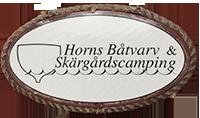 Horns Båtvarv - bryggplatser, camping, vinterförvaring av båt